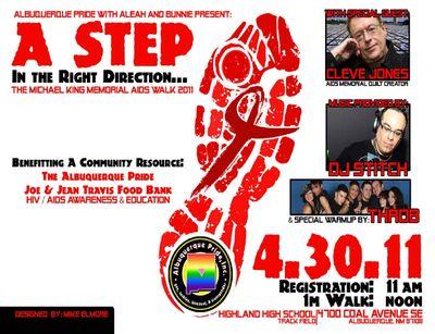 AIDS WALK Poster