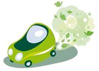 Green car images