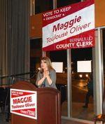 Maggie at podium2 011012