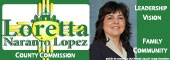 Elect Loretta Naranjo Lopez to Bernalillo County Commission